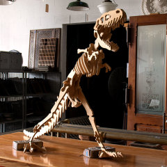 #7963 - Handmade Plywood T Rex Skeleton image