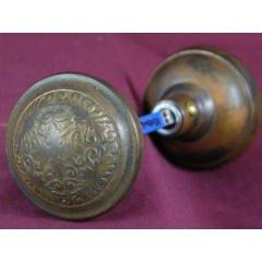 #8149 - Pair of Reading Montello Pattern Doorknobs image