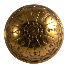 #8177 - Antique Brass Norwalk Doorknob image