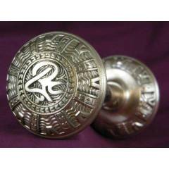 #9147 - Pair of Antique Mallory Wheeler Doorknobs image