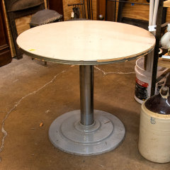 #9645 - Round Laminate Top Diner Table image