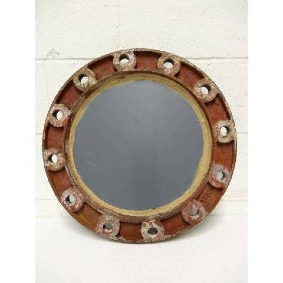 Industrial Pipe Flange Mirror