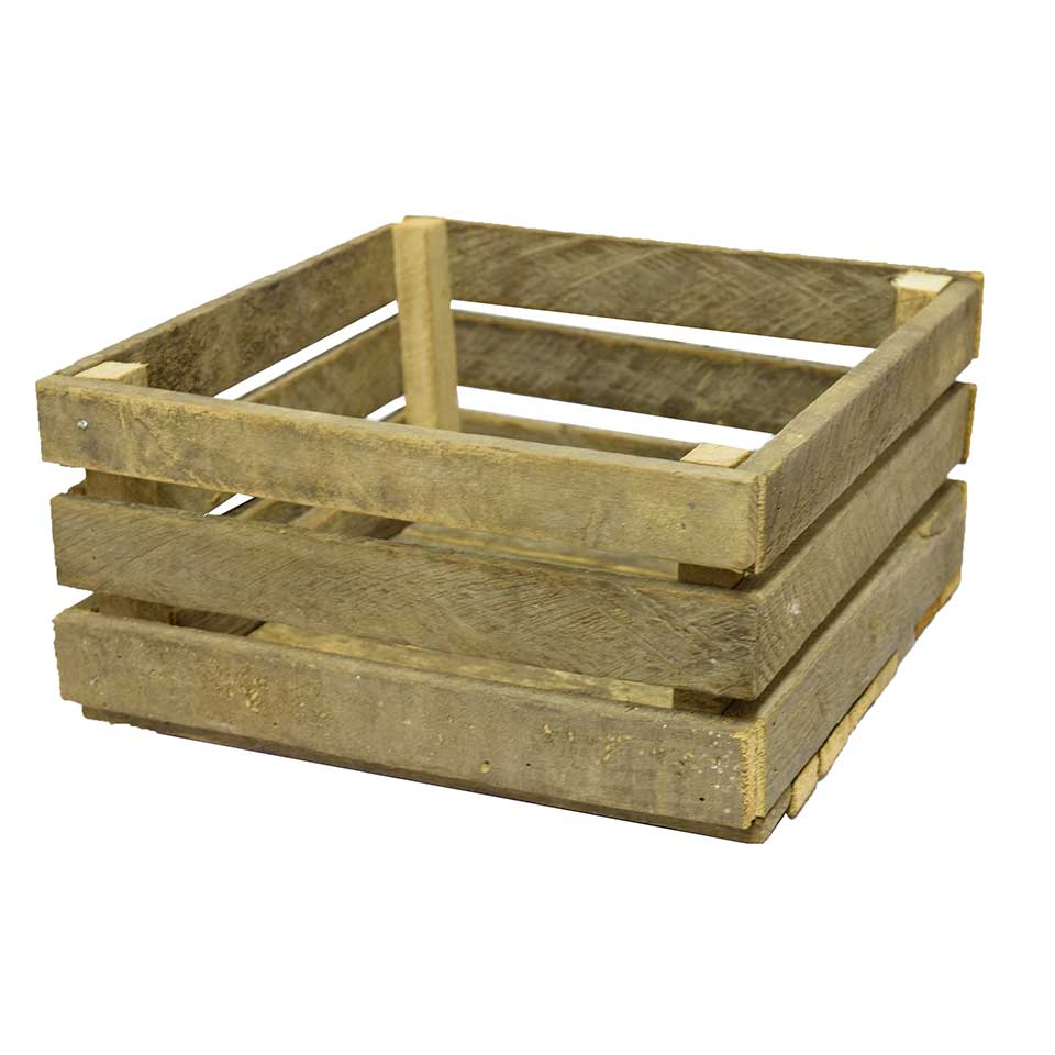 Old Wood Lath Crate