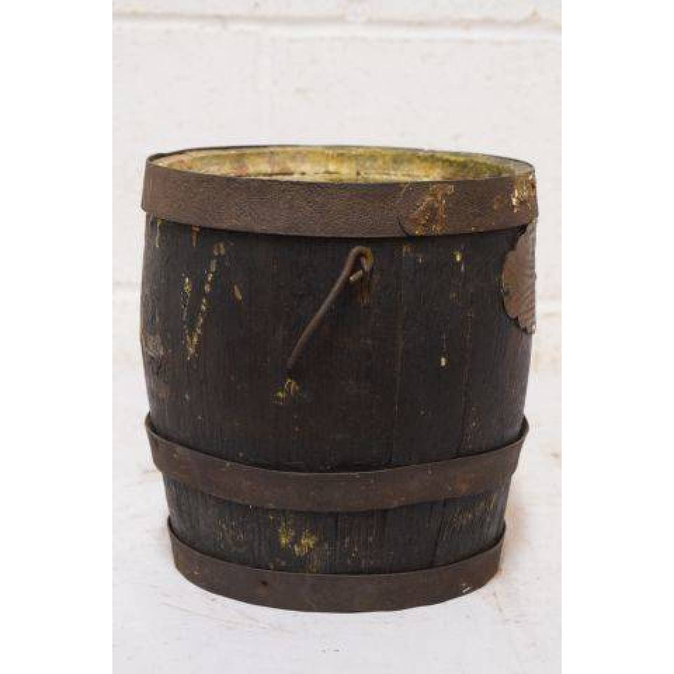 Small Wood Barrel