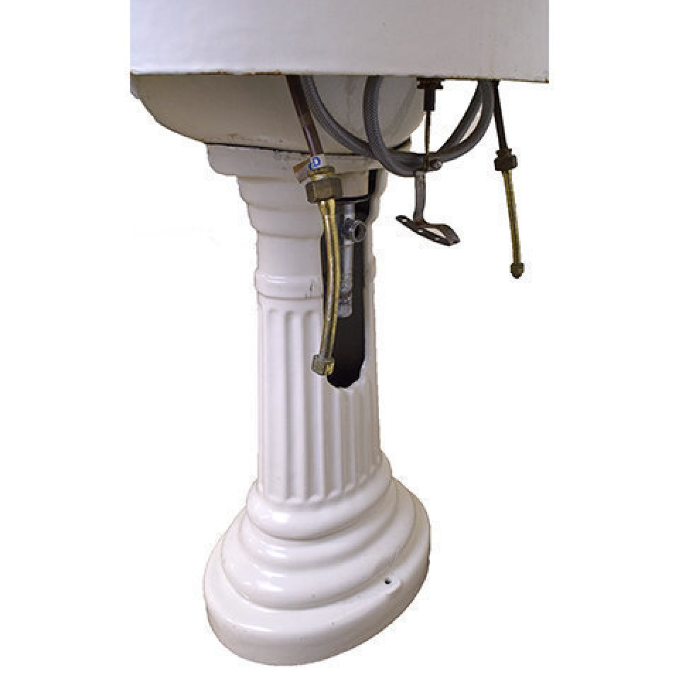Cast Iron Pedestal Sink