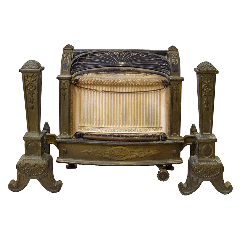Antique Gas Fireplace Insert Columbus Architectural Salvage