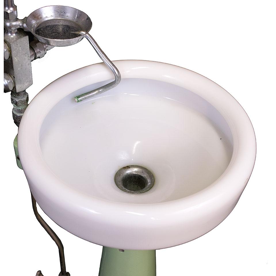 Vintage Dental Spittoon Sink