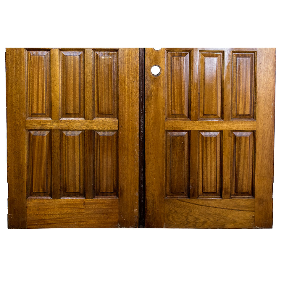 Salvaged Wood Entry Doors