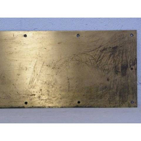 #14233 Brass Door Kick Plate image 3