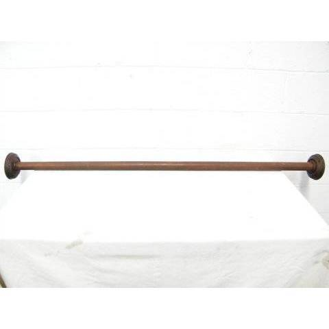 #14718 Victorian Walnut Curtain Rod image 1