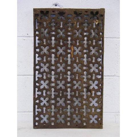 #14994 Salvaged Cast Iron Grate image 1