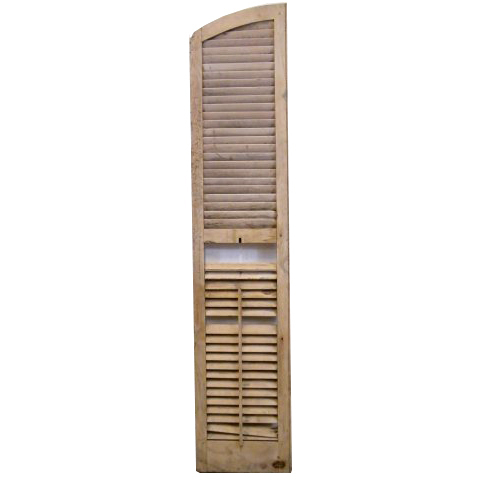 #15648 Exterior Arched Louvered Shutter image 1