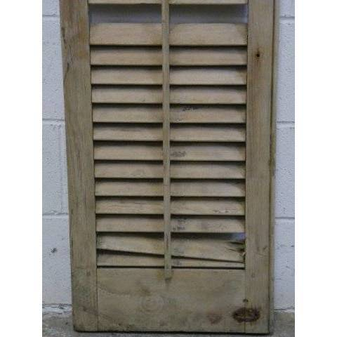 #15648 Exterior Arched Louvered Shutter image 4