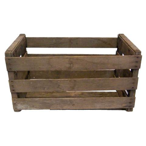 #16089 Vintage Wood Crate Box image 1