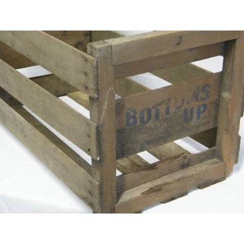 #16089 Vintage Wood Crate Box image 2