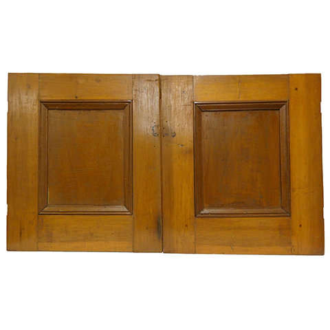 #16540 Salvaged Wood Cabinet Doors image 1