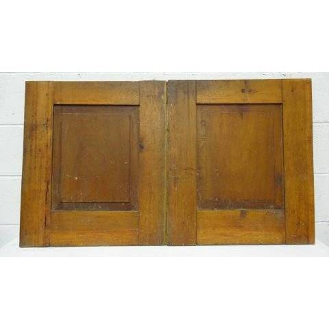 #16540 Salvaged Wood Cabinet Doors image 2