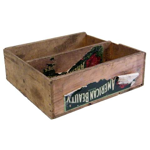 #16680 American Beauty Wood Crate image 1