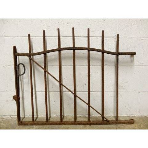#16990 Wrought Iron Garden Gate image 1