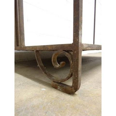 #17194 Wrought Iron Garment Rack image 4
