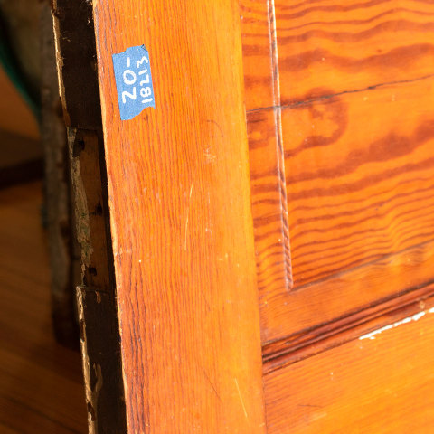 #18213 Salvaged Interior Door Panel Section image 3