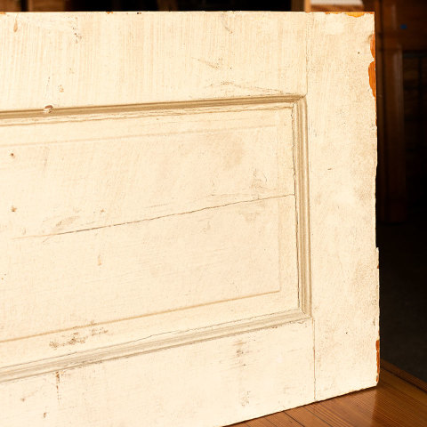 #18213 Salvaged Interior Door Panel Section image 5