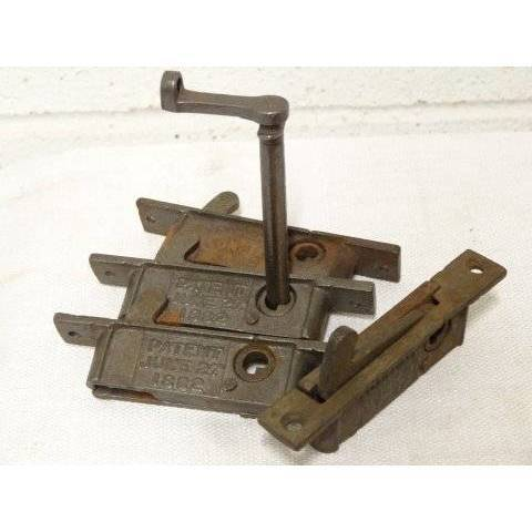 #18276 Window Latch Hardware with Key image 3