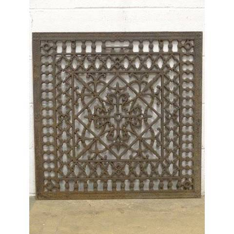 #18445 Ornate Cold Air Return Grate image 1