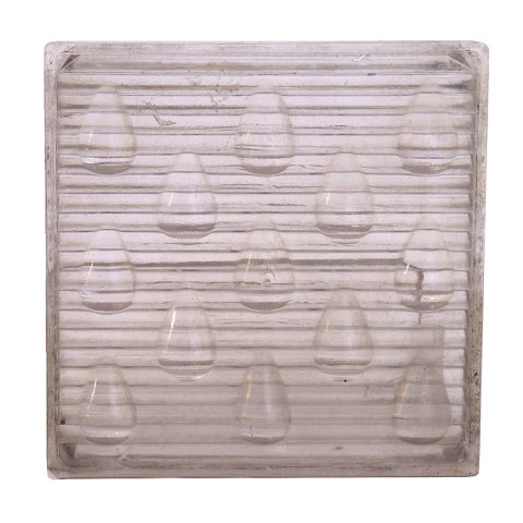 #18485 Luxfer Glass Prism Tile image 1