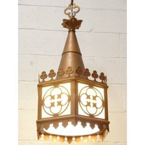 #18804 Vintage Gothic Church Chandelier image 2