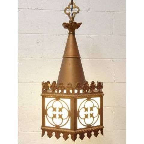 #18804 Vintage Gothic Church Chandelier image 3