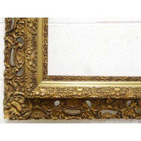 #19177 Antique Gesso Picture Frame image 3