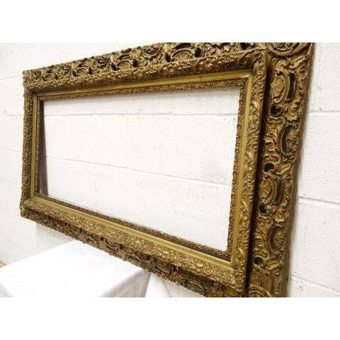 #19177 Antique Gesso Picture Frame image 5
