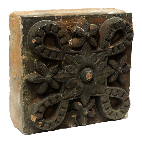 #19185 Terra Cotta Architectural Ornament image 1