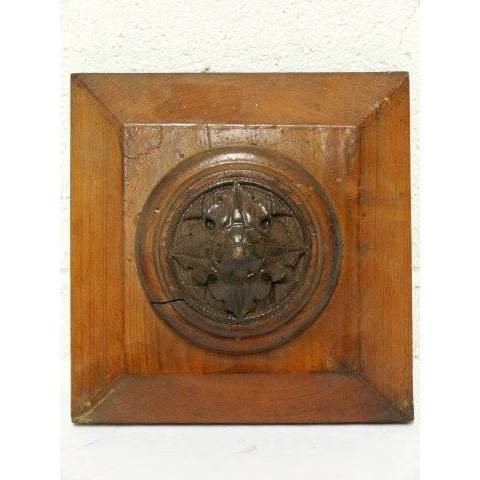 #19340 Carved Wood Architectural Ornament image 2