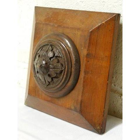 #19340 Carved Wood Architectural Ornament image 3