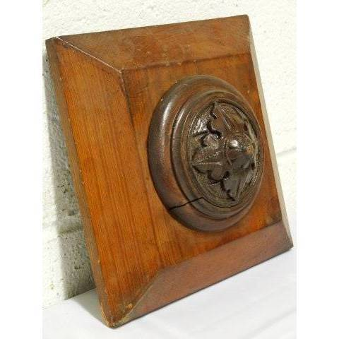 #19340 Carved Wood Architectural Ornament image 4