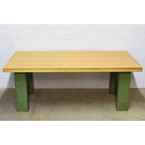 #19478 Repurposed Bowling Alley Table image 2
