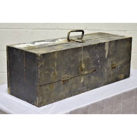 #20279 Old Wood Tool Box image 1