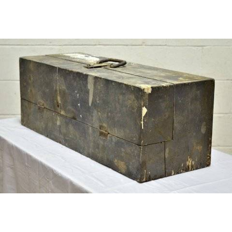 #20279 Old Wood Tool Box image 2