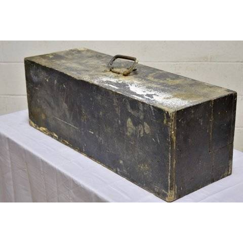 #20279 Old Wood Tool Box image 3