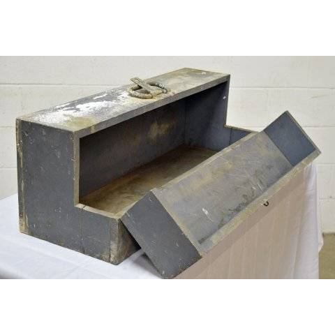 #20279 Old Wood Tool Box image 5