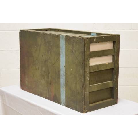 #21026 Antique Wood Storage Cabinet image 3