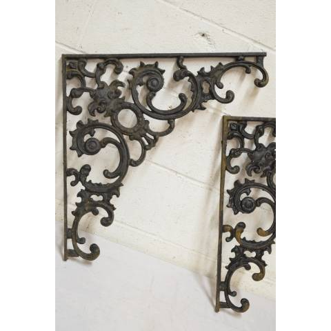 #21486 Cast Iron Support Brackets image 2