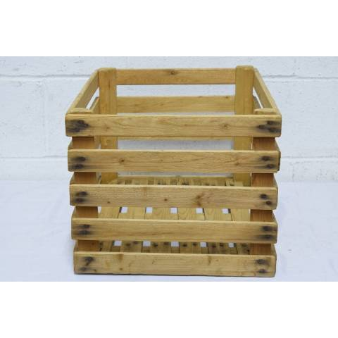 #21824 Wood Slat Crate image 2
