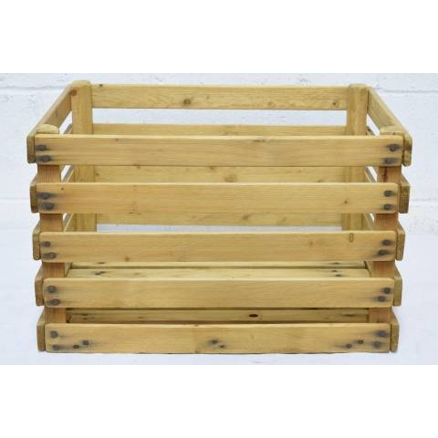 #21824 Wood Slat Crate image 3