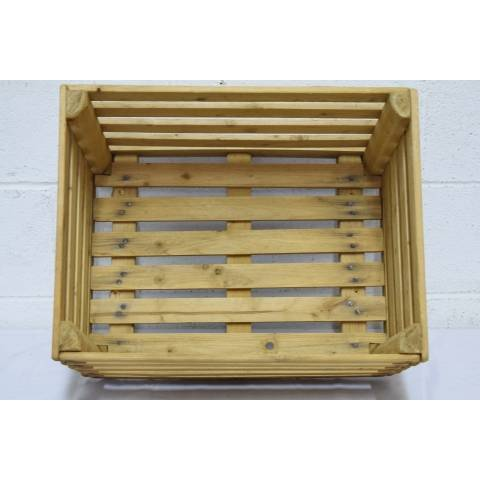#21824 Wood Slat Crate image 4