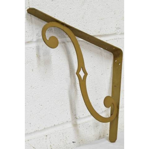 #22484 Salvaged Metal Shelf Brackets image 4