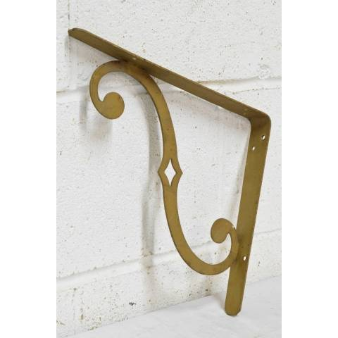 #22484 Salvaged Metal Shelf Brackets image 6