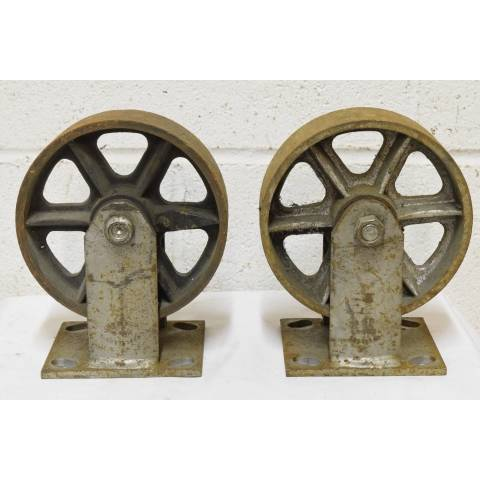 #22607 Industrial Metal Cart Casters image 4